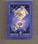 Sellos de Europa - Rusia -  satélite sputnik de radio