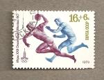 Sellos de Europa - Rusia -  XXII Juegos Olimpicos Moscú, balonmano