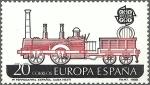 sellos de Europa - España -  2949 - Europa -Primer ferrocarril español en Cuba