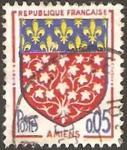 Stamps France -  1352 - Escudo de Amiens