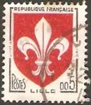 Stamps France -  escudo de lille