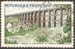 Sellos de Europa - Francia -  viaducto de chaumont
