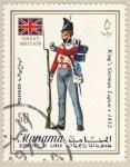 Sellos del Mundo : Asia : Bahrein : uniformes britanicos