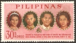 Stamps Philippines -  Visita de la familia real de Tahilandia