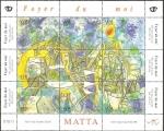 Stamps Chile -  matta, foyer du moi