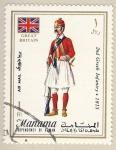 Stamps Asia - Bahrain -  uniformes britanicos