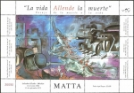 Stamps America - Chile -  matta, la vida allende la muerte