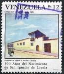 Sellos de America - Venezuela -  Aniversario Nacimiento San Ignacio de Loyola