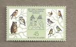 Stamps Germany -  100 Años de protección a las aves