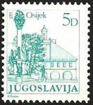 Sellos de Europa - Yugoslavia -  ciudades