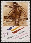 Stamps Andorra -  Juegos Olímpicos Sydney 2000 - Atletismo