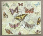 Stamps Ukraine -  Mariposas