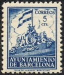 Stamps Europe - Spain -  Ayuntamiento de Barcelona
