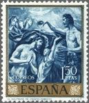 Sellos de Europa - España -  ESPAÑA 1961 1335 Sello Nuevo Domenico Theotocopoulos El Greco El Bautismo de Cristo