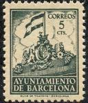 Stamps : Europe : Spain :  Ayuntamiento de Barcelona