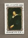 Sellos de Asia - Corea del norte -  cuadro de Rubens