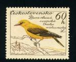 Sellos de Europa - Checoslovaquia -  oriolus oriolus