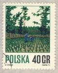 Stamps of the world : Poland :  plantación