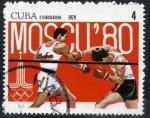 Stamps Cuba -  Moscú '80