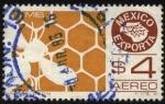 Sellos de America - México -  México exporta miel.