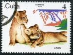 Stamps Cuba -  Crias de Animales Salvajes