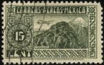 Stamps Mexico -  Aeroplano sobrevolando el volcán CITLALTEPETL.