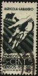 Sellos de America - México -  Censos Agrícola-ganaderos 1939 y 1940.