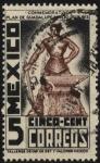 Sellos del Mundo : America : México : Conmemorativo del Plan de Guadalupe 26 de marzo de 1913.