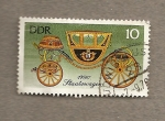 Stamps Germany -  Carrozas de época