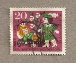 Stamps Germany -  Ayuda para vacaciones niños de Berlín