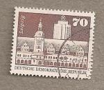 Stamps Germany -  Viejo ayuntamiento de Leipzig