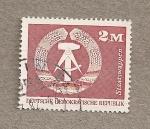 Sellos de Europa - Alemania -  Escudo de la DDR