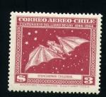 Sellos del Mundo : America : Chile : Stenoderma Chilensis