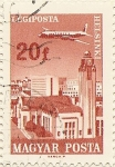 Stamps Hungary -  HELSINKY