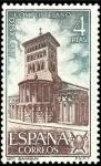 Sellos de Europa - España -  ESPAÑA 1971 2069 Sello Nuevo Año Santo Compostelano Iglesia de San Tirso Sahagun
