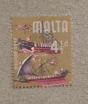 Stamps Europe - Malta -  flota maltesa