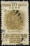 Stamps America - Mexico -  IV Centenario del primitivo y nacional Colegio de San Nicolás de Hidalgo el más antiguo de América.