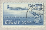 Stamps Kuwait -  avion y barcos