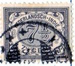 Stamps Netherlands -  1902 indias holandesas: cifras