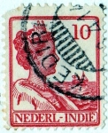 Stamps Europe - Netherlands -  1913 indias holandesas guillermina