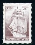 sellos de America - Chile -  escuela naval