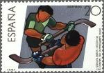 Stamps : Europe : Spain :  2957 - Deportes - XXVIII Campeonato del Mundo de Hockey sobre patines