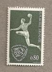 Stamps France -  Jugador balonmano