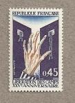 Stamps France -  XXV Aniv. Liberación campos de concentración