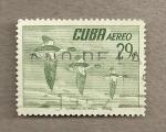 Stamps Cuba -  Ave mergo