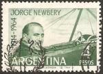 Sellos de America - Argentina -  jorge newbery