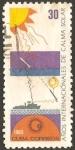 Stamps Cuba -  años internacionales de calma solar