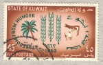 Stamps Asia - Kuwait -  lucha contra el hambre