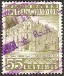 Sellos de America - Venezuela -  oficina principal de correos en caracas