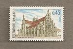 Stamps France -  Iglesia de Brou